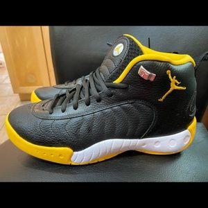 Team Jordan basketball sneakers
